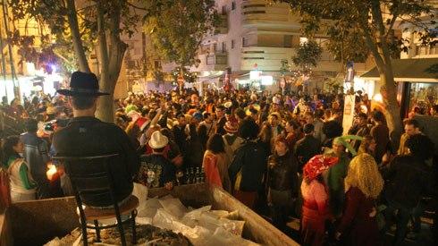 florentine street party in tel aviv