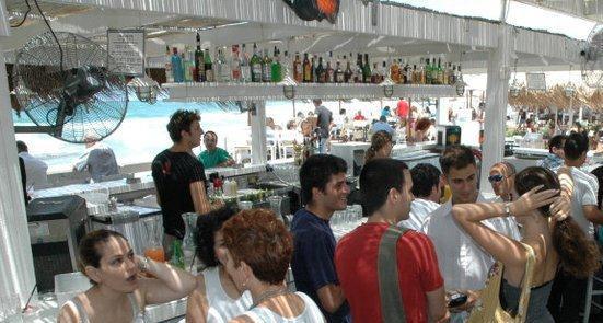 Shalvata bar at the Namal, the Tel Aviv Port