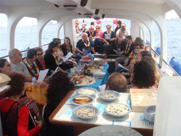 You can take groups of up to 40 people on the Yam Yacht in Tel Aviv